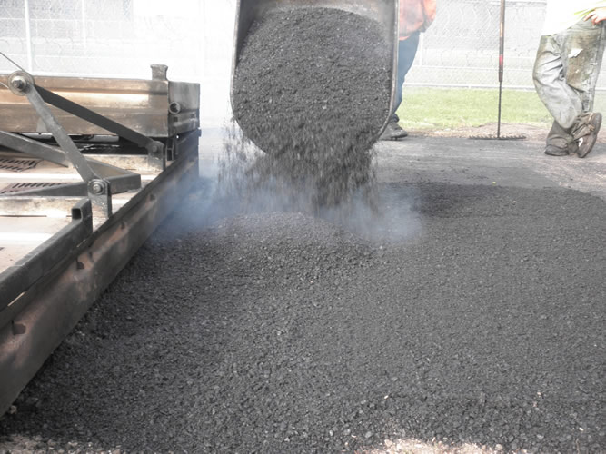 Hot Asphalt Mix